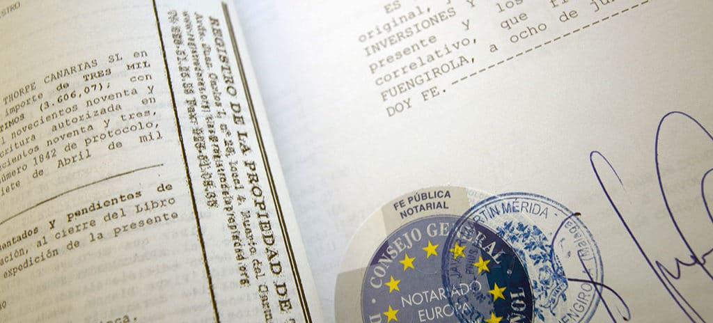 obligación de registro en multipropiedad